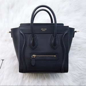ISO Celine Luggage Nano in Black Mint Condition